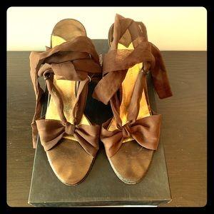 BCBG Maxazria high heel sandals